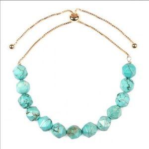 !!NEW!! Turquoise adjustable bracelet!!!